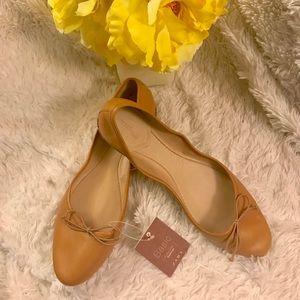 NWT Zara Basic Ballet Flats 41/10